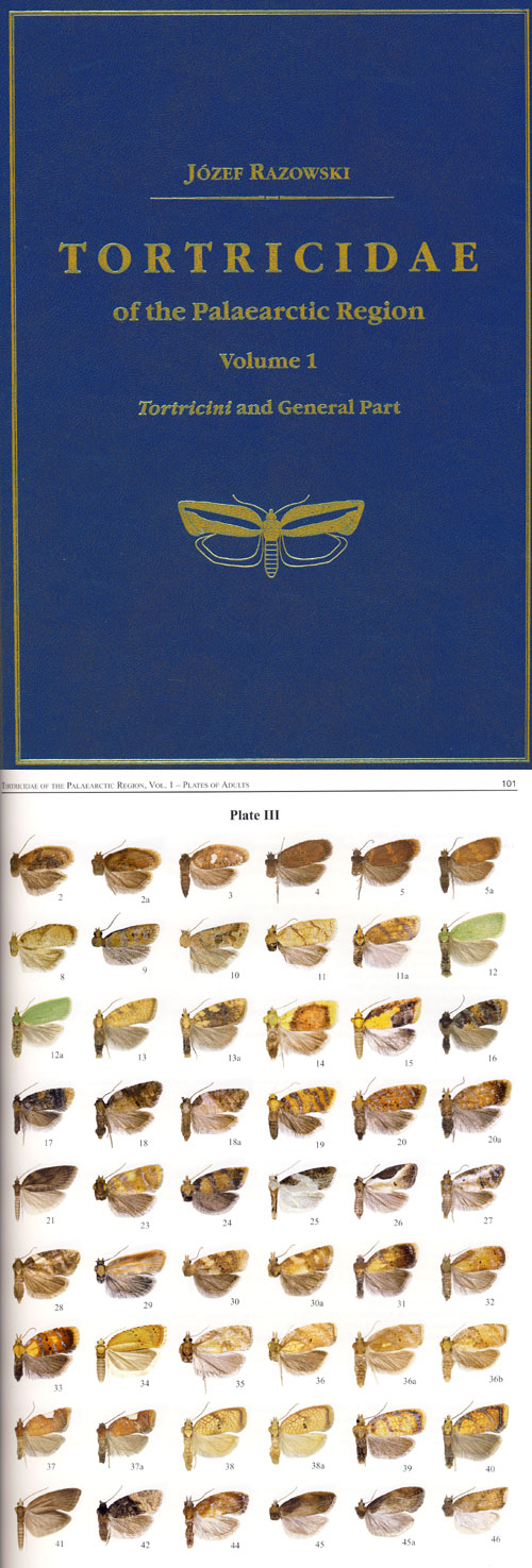 Razowski J. - Tortricidae of the Palaearctic Region Vol. 1, Tortricini and General Part